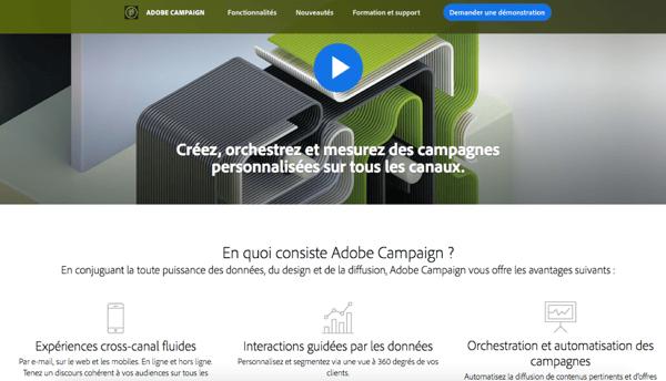 Adobe Campaign Marketing Automation