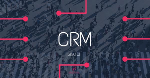 CRM Gratuit Illustration Banner
