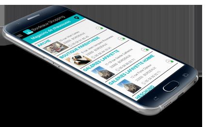 application mobile bordeaux shopping