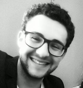 Pierre Pessiot, stagiaire chef de projet digital