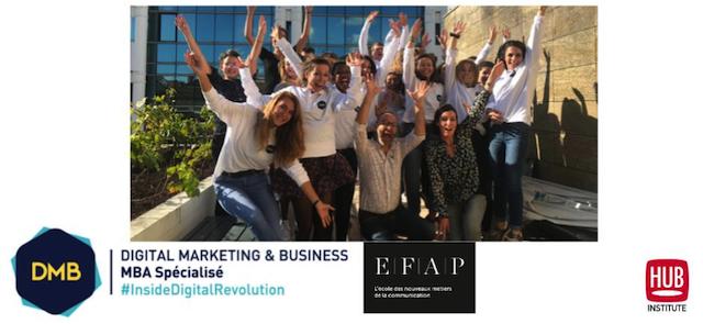 MBA Digital Marketing EFAP