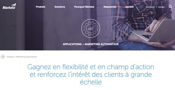 Marekto Solution de Marketing Automation