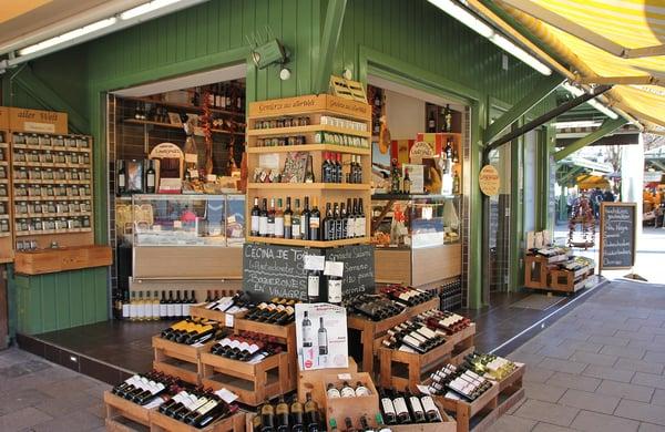 Mise en avant Boutique Vin