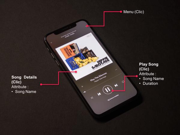 Tagging Mobile App Image Music