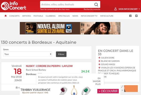 page-listing-parcours-client